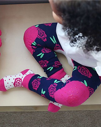 Zoocchini Grip+Easy Anti-slip Leggings & Socks Set - Bella the Bunny Leggings