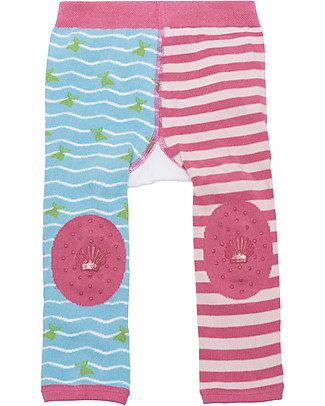 Zoocchini Grip+Easy Anti-slip Leggings & Socks Set - Marietta the Mermaid  Leggings