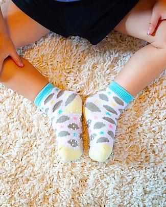 Zoocchini Grip+Easy Antislip Socks 3 Pack - Allie the Alicorn Socks