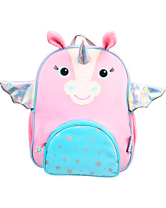 Zoocchini Kids Backpack Pals, Allie the Alicorn - 33 x 26.5 x 10 cm Small Backpacks