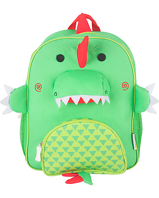 Zoocchini Kids Backpack Pals, Devin Dinosaur – 33 x 26.5 x 10 cm Small Backpacks