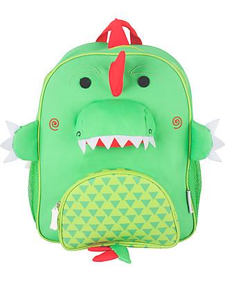 Zoocchini Kids Backpack Pals, Devin Dinosaur - 33 x 26.5 x 10 cm null