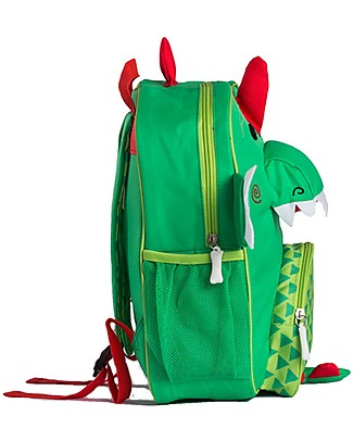 Zoocchini Kids Backpack Pals, Devin Dinosaur - 33 x 26.5 x 10 cm Small Backpacks