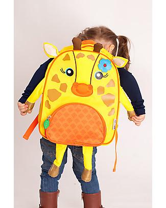 Zoocchini Kids Backpack Pals, Jamie the Giraffe – 33 x 26.5 x 10 cm Small Backpacks