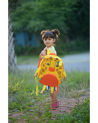 Zoocchini Kids Backpack Pals, Jamie the Giraffe - 33 x 26.5 x 10 cm Small Backpacks