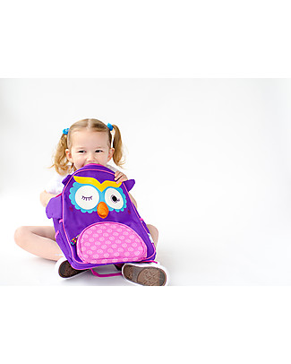 Zoocchini Kids Backpack Pals, Olive the Owl – 33 x 26.5 x 10 cm Small Backpacks