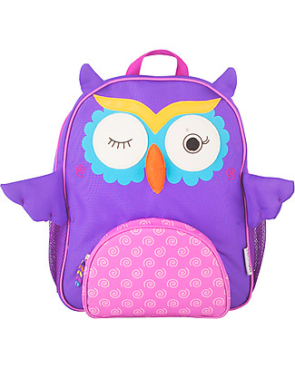 Zoocchini Kids Backpack Pals, Olive the Owl - 33 x 26.5 x 10 cm null