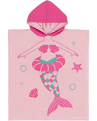 Zoocchini Kids Hooded Poncho, Marietta the Mermaid (2-6 years) Towels And Flannels