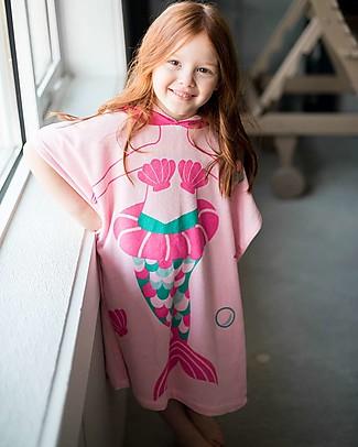 Zoocchini Kids Hooded Poncho, Marietta the Mermaid (2-6 years) Towels And Flannels