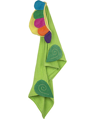 Zoocchini Kids Hooded Towel, Flower - 100% cotton Towels And Flannels