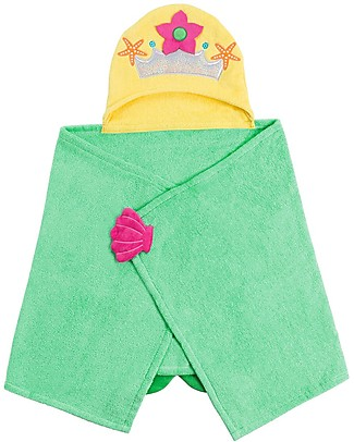Zoocchini Kids Hooded Towel, Marietta the Mermaid - 100% cotton Towels And Flannels