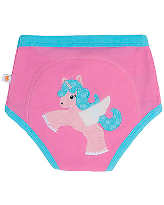 Zoocchini Padded Training Pants, Allie the Alicorn - 100% Organic Cotton  Training Pants