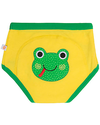 Zoocchini Padded Training Pants, Flippy the Frog - 100% Organic Cotton  Training Pants