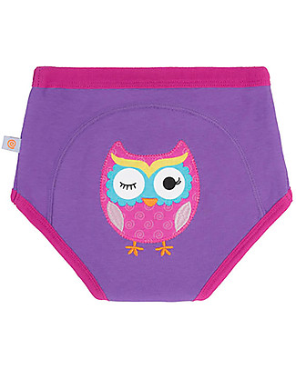 Zoocchini Padded Training Pants, Olive the Owl - 100% Organic Cotton  Training Pants