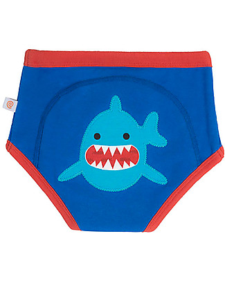 Zoocchini Padded Training Pants, Sherman the Shark - 100% Organic Cotton  Training Pants