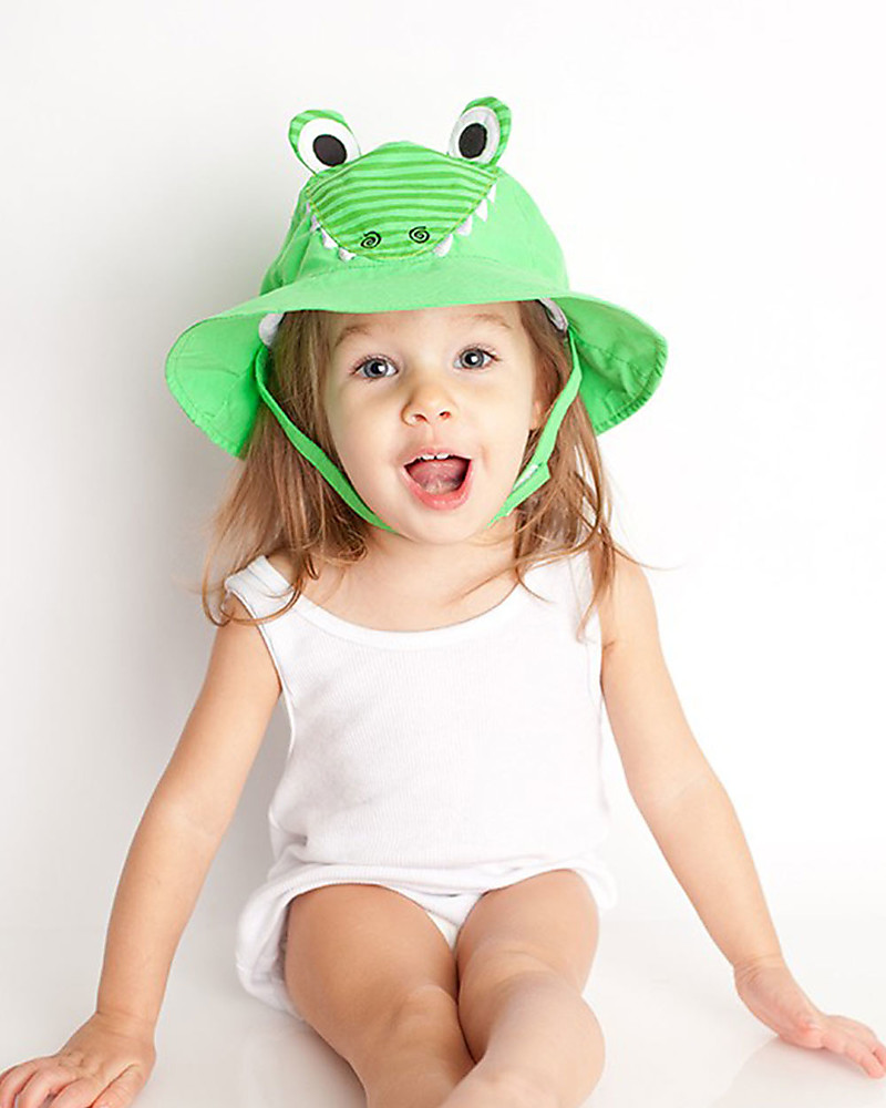 Zoocchini Sunhat UPF 50 Aiden the Alligator - Funny and useful! Sunhats  sc 1 st  Family Nation & Zoocchini Sunhat UPF 50 Aiden the Alligator - Funny and useful ...