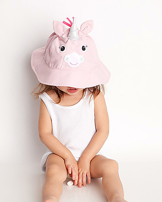 Zoocchini Sunhat UPF 50, Allie the Alicorn - Funny and useful! Sunhats