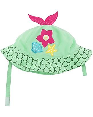 Zoocchini Sunhat UPF 50, Marietta the Mermaid - Funny and useful! Sunhats