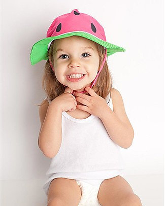 Zoocchini Sunhat UPF 50, Watermelon - Funny and useful! Sunhats