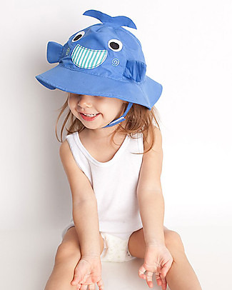 Zoocchini Sunhat UPF 50, Willie the Whale - Funny and useful! Sunhats