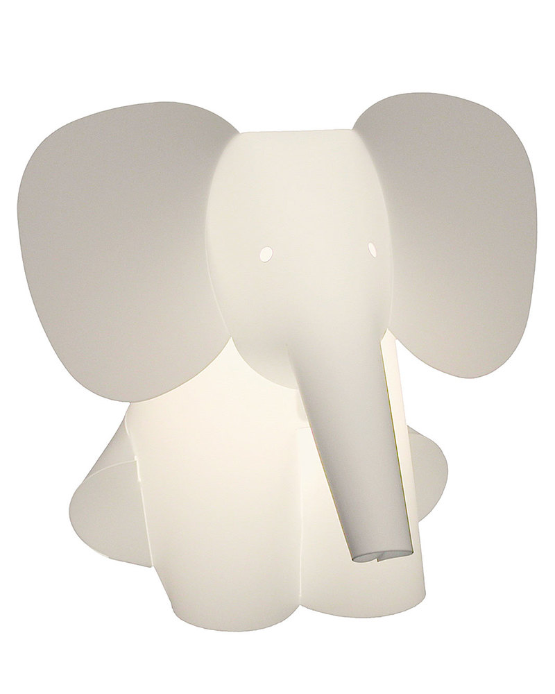 Zzzoolight elephant night light changes colours made in italy nightlights