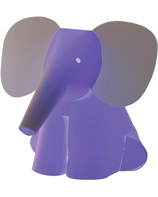 Zzzoolight Elephant Night Light - Changes Colours! Made in Italy Nightlights