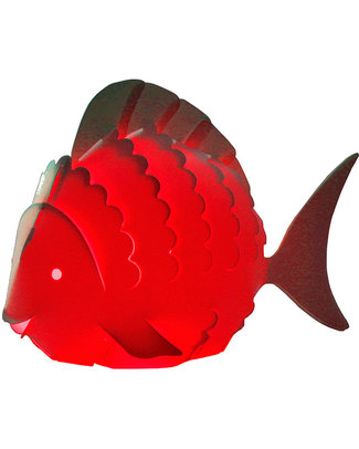 Zzzoolight Fish Night Light - Changes Colours! Made in Italy Nightlights