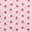 Baby Double Sided Quilt 115 x 140 cm, Pink+Leaves - 100% cotton