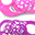 Orthodontic Pacifiers (Pack of 2) 6+ months, Purple-Pink - Extra-soft silicone, BPA-free!