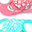 Orthodontic Pacifiers (Pack of 2) 6+ months, Peach & Turquoise - Extra-soft silicone, BPA-free!
